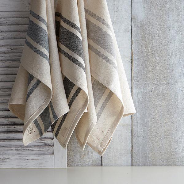 Harman Bistro Stripe Kitchen Towels, blue