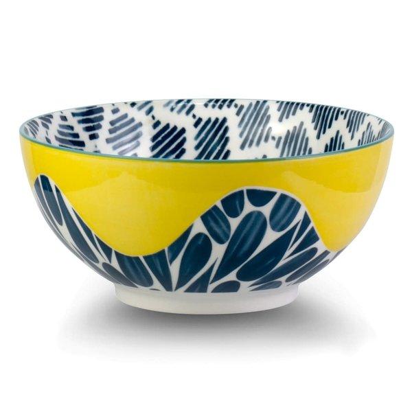 Brilliant Cobble Yellow Bowl, 20 cm