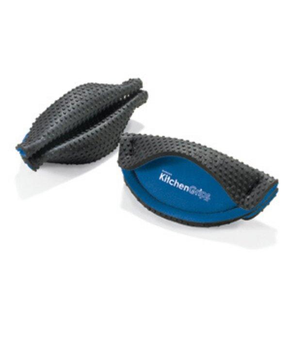 Kitchen Grips FLXaPrene Handle Holder Set of 2, blue