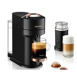Nespresso Nespresso Vertuo Next Coffee and Espresso Machine with Aeroccino by De'Longhi, Black with Rose Gold