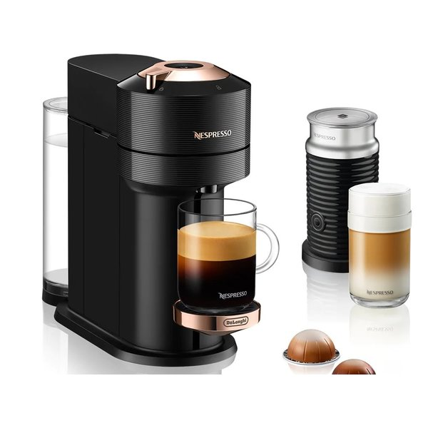Nespresso Vertuo Next Coffee and Espresso Machine with Aeroccino by De'Longhi