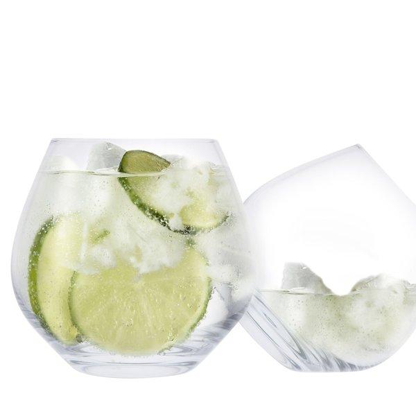 Verre à Gin Copa sans pied avec sous-verres de Cuisivin
