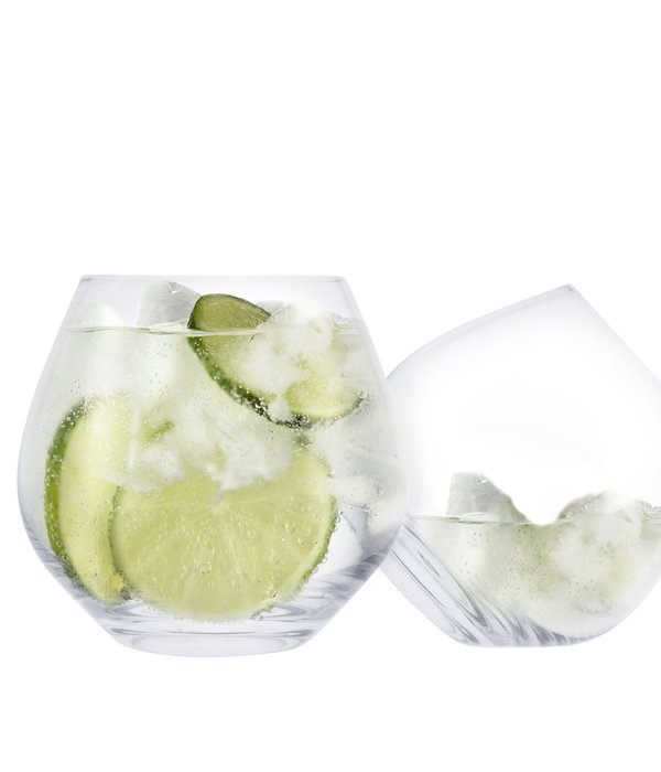 Cuisivin Stemless Gin Copa Glass with Coasters