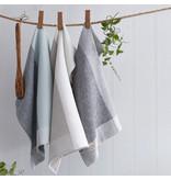 Serviettes de cuisine gaufres bicolores, Bleu de Harman