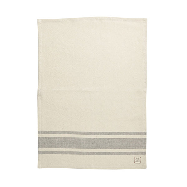 Harman Bistro Stripe Kitchen Towels, grey