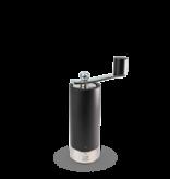 Peugeot Moulin à sel en bois noir mat avec manivelle, u'Select, 18 cm - 7 ″ de Peugeot