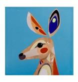 "Maxwell & Williams Dessous-de-plat carré en céramique 20cm Cromer ""Kangaroo"" de Maxwell & Williams"