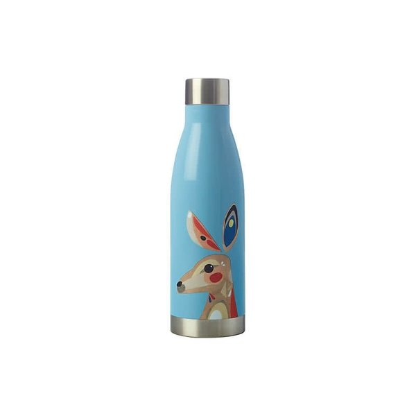 Maxwell & Williams Pete Cromer Double Wall Insulated Bottle 500ML Kangaroo