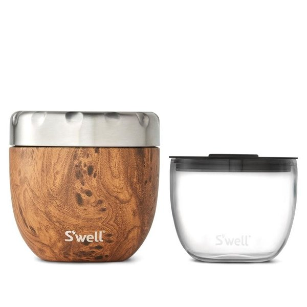 Swell Eats™ Teakwood 2-in-1 Food Bowl - 473 ml