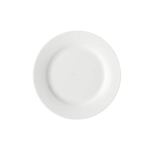 """Assiette à dîner et entrée 23cm """"White Basics"""" de Maxwell & Williams"""