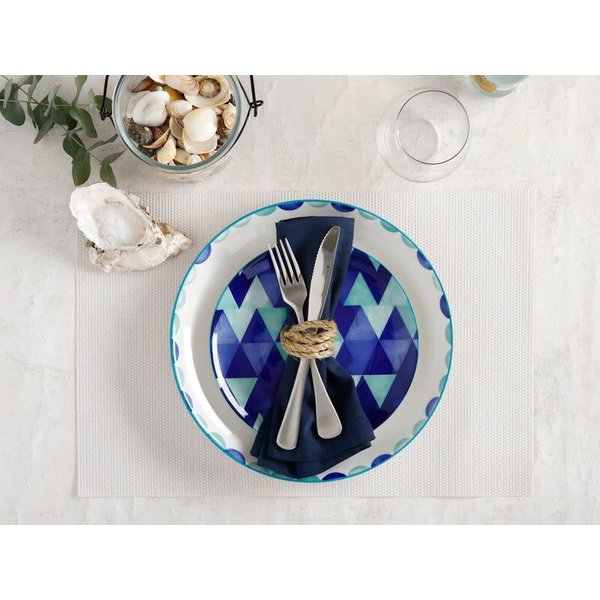"Assiette Triangles 18cm ""Reef "" de Maxwell & Williams"