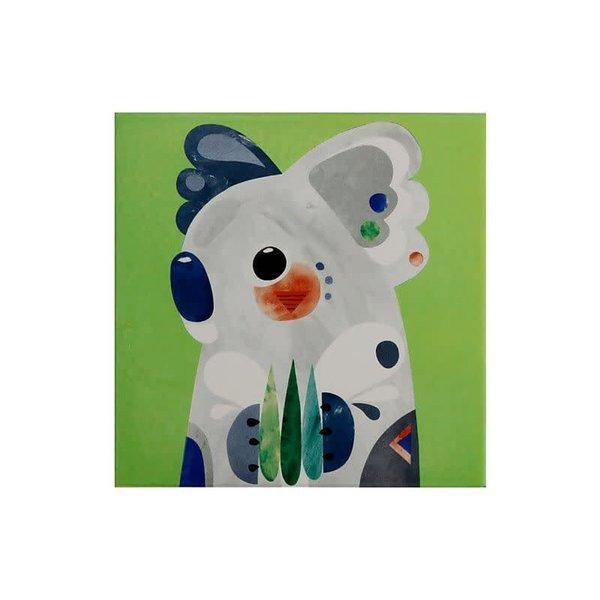 Maxwell & Williams Pete Cromer Ceramic Square Trivet 20cm Koala
