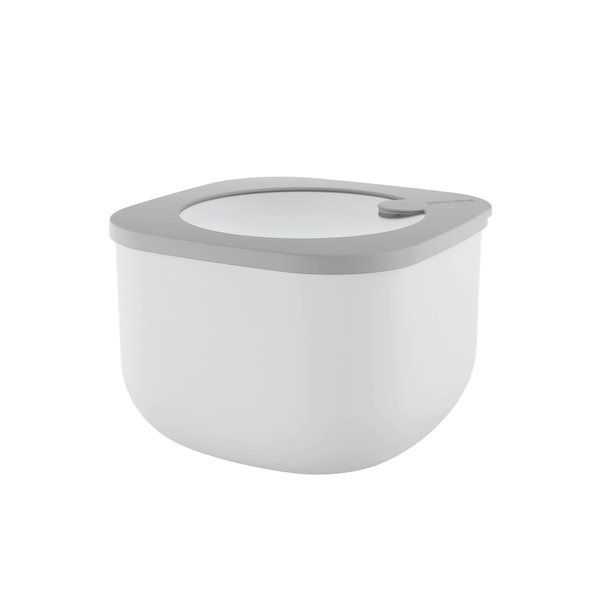 Guzzini STORE&MORE - Deep airtight fridge/freezer/microwave containers, M, Dark grey