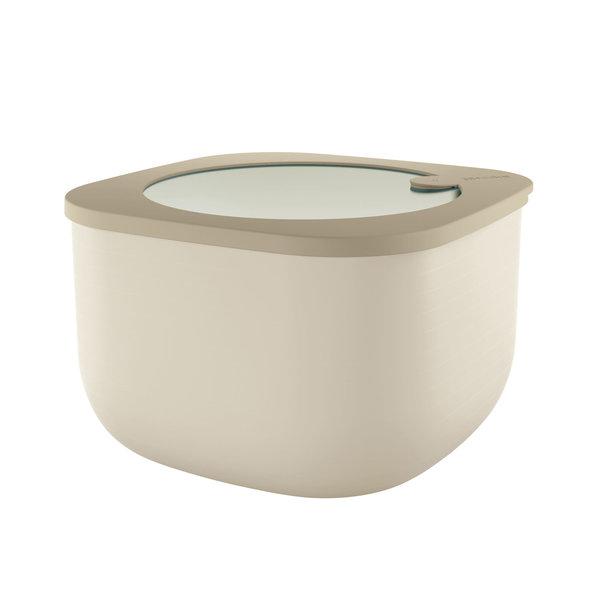 """Récipients hermétiques hauts pour réfrigérateur/congélateur/four à micro-ondes, L, """"Store&More"""" Argile de Guzzini"""