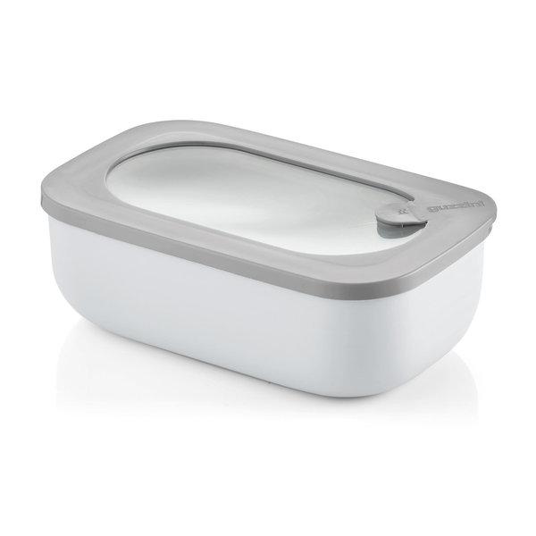 Boite hermetique rectangulaire pour refrigerateur/congelateur/four a micro-ondes Gris foncé  de Guzzini