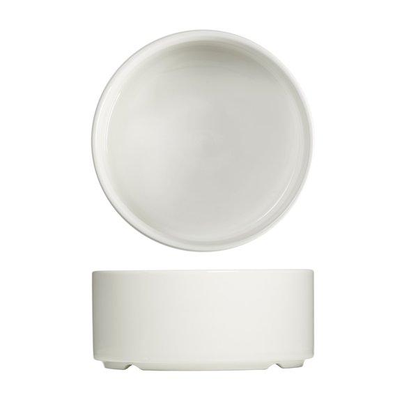 """Bol à soupe cylindrique 15x7cm blanc """"Essentials"""" de Mann"""