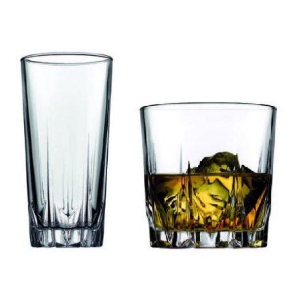 "Pasabahce ""Karat"" glasses, set of 12"