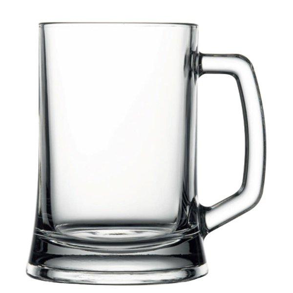 Pasabahce beer mug, set of 2, 500ml