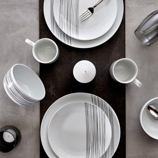 H2K 16pcs Cascade dinnerware set
