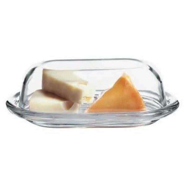 Pasabahce Glass Butter Dish