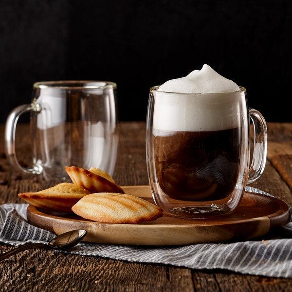 Tasse cappuccino 250ml, double paroi, ensemble de 2 de Barista+