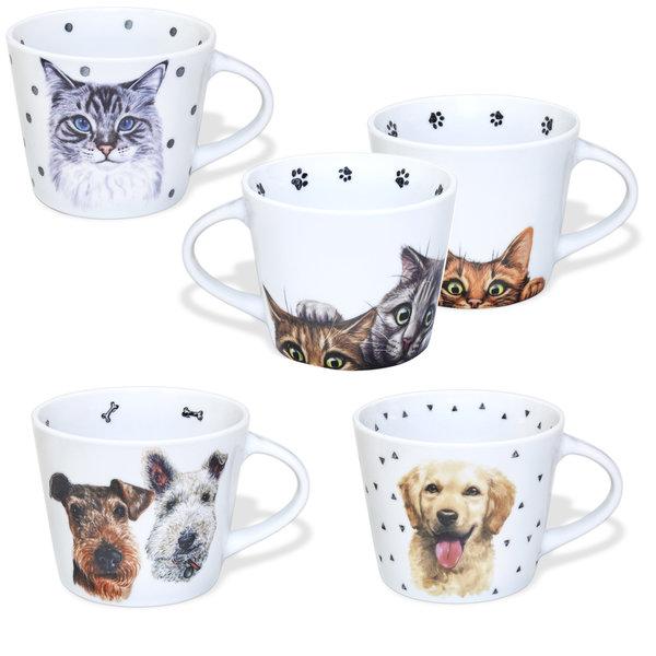 Foyer Companions Porcelain Mug 13.5oz / 400ml assorted