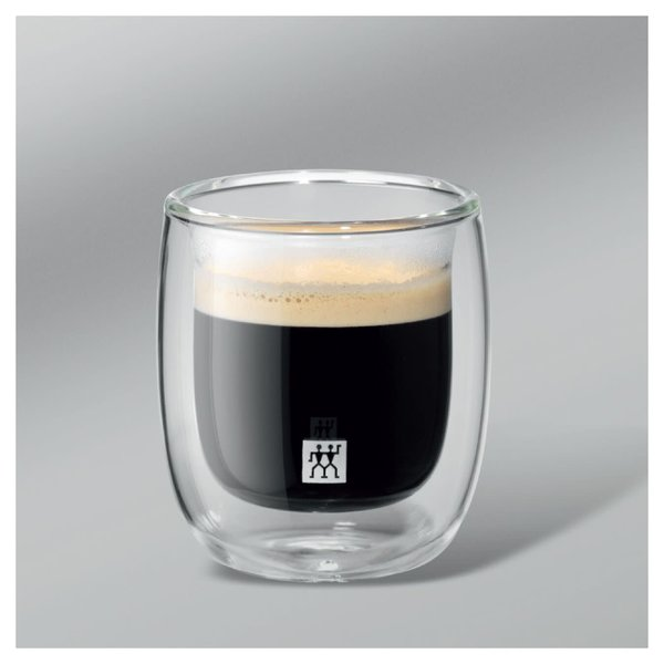 Zwilling Sorrento Double Wall Espresso Glasses, set of 2