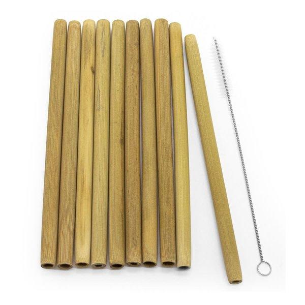 Pailles en Bambou de ECO par Starfrit Gourmet