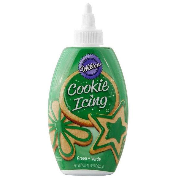 Wilton Green Cookie Icing, 9 oz.