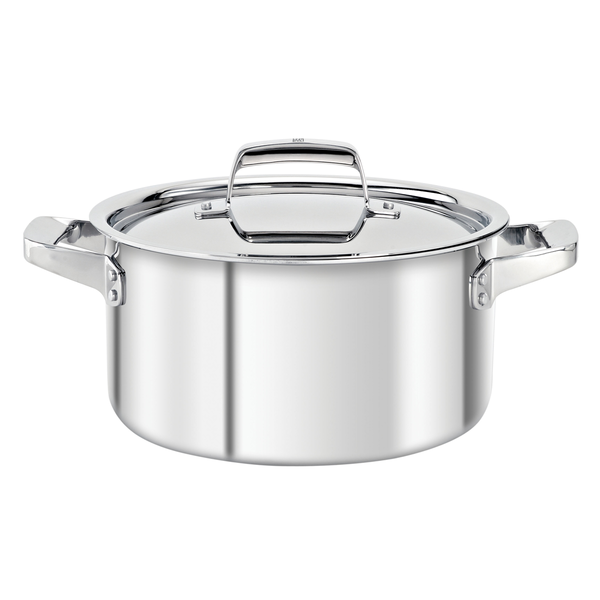 Henckels TruClad stock pot with lid 5.75L