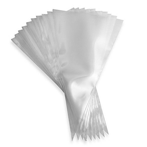 """Ateco Clear Disposable Bags 12"""""""