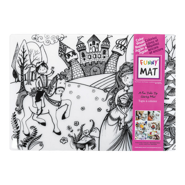 Funny Mat Princesse Placemat