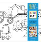 Funny mat Funny Mat Construction Placemat