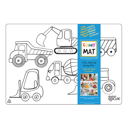 Funny mat Funny Mat Construction Placemat