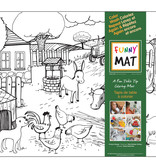 Funny mat Funny Mat Farm animals Placemat