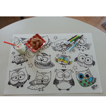 Funny mat Funny Mat Owls Placemat