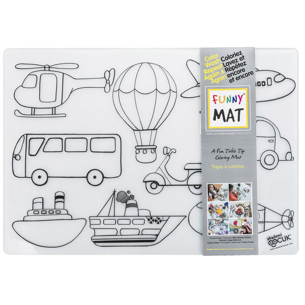 Funny Mat VEHICLES Placemat