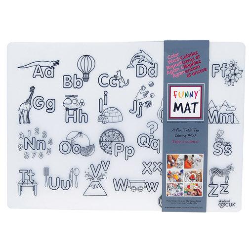 Funny mat Funny Mat Alphabet Placemat