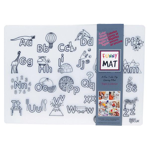 Funny Mat Alphabet Placemat