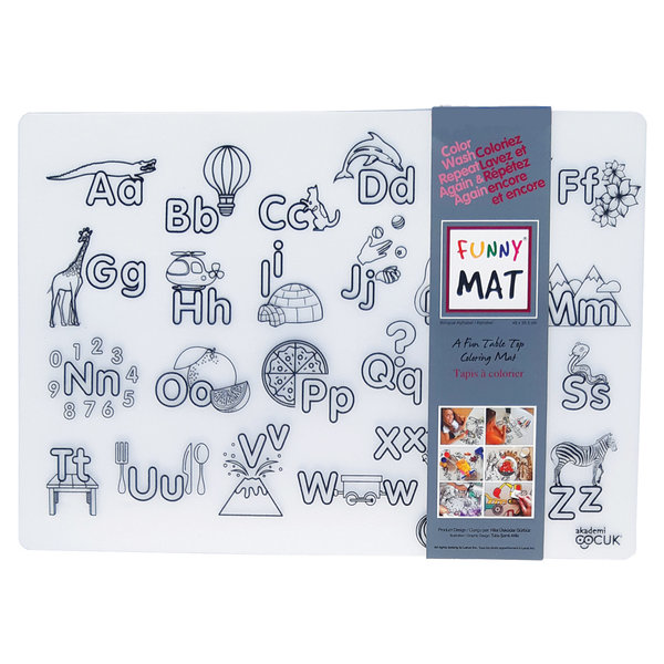 """Napperon """"Alphabet"""" de Funny Mat"""