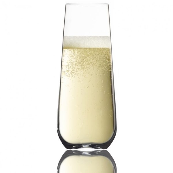 Trudeau GALA STEMLESS FLUTES 8 OZ BOX OF 4