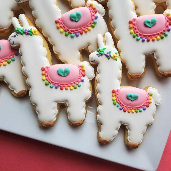 """Ann Clark Llama Cookie Cutter 4 1/4"""" x 3"""""""