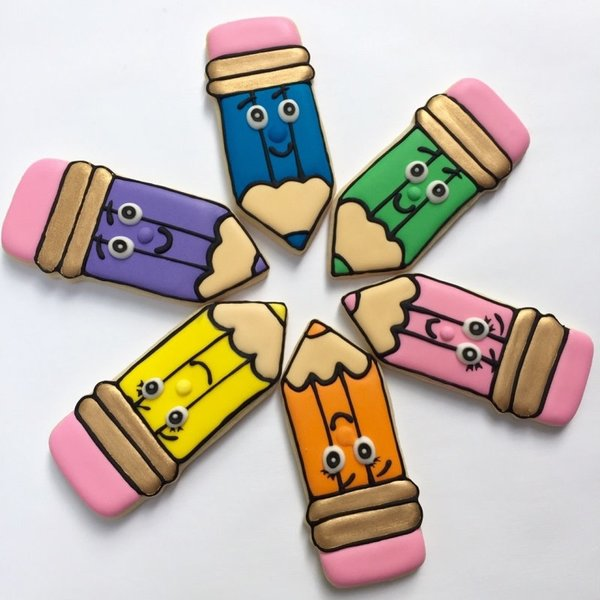 "Ann Clark Pencil Cookie Cutter 4"""