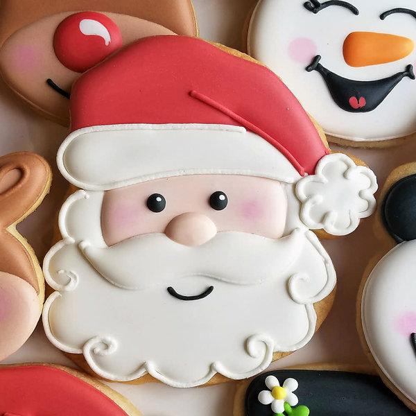 """Ann Clark Santa Face Cookie Cutter 4 1/4"""""""