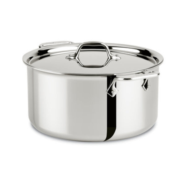 ALL-CLAD Stainless 8-Qt Stockpot