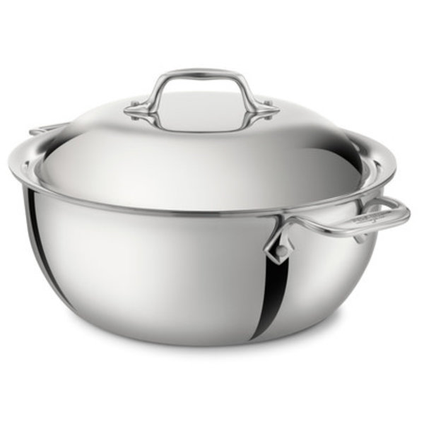ALL-CLAD d3 STAINLESS 5.5-Qt Dutch Oven