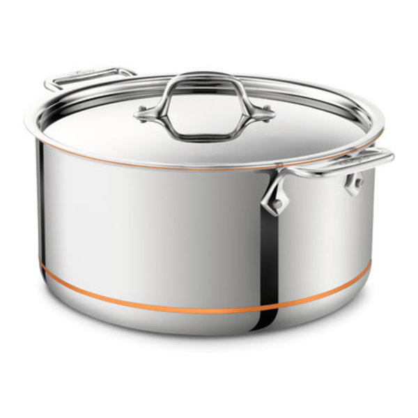 ALL-CLAD COPPER CORE® 8-Qt Stockpot