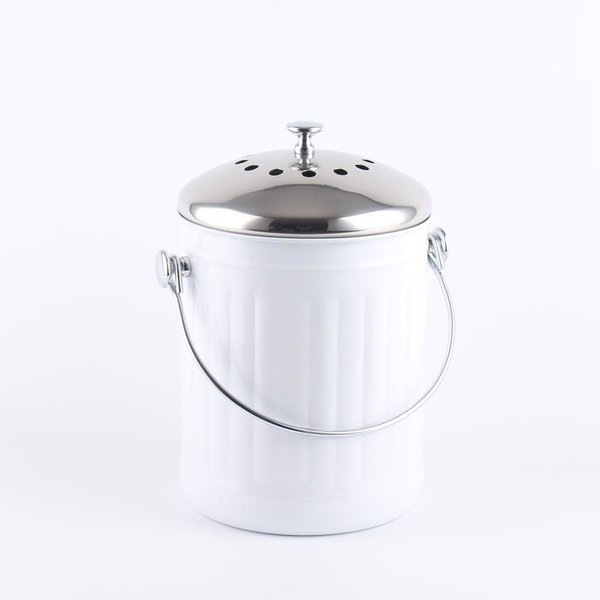 Seau à compost 4,5L - Blanc