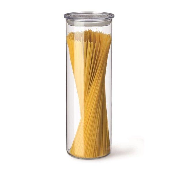 Simax cylinder storage jar with clear lid 1.8L