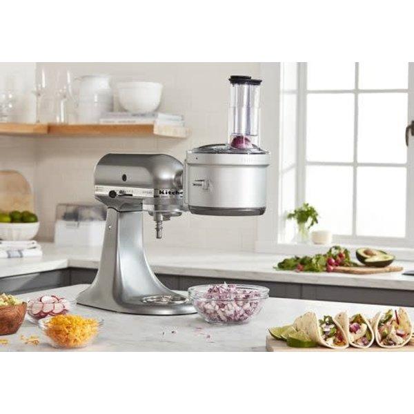 Accessoire de robot culinaire avec kit de découpage en dés de style commercial de KitchenAid